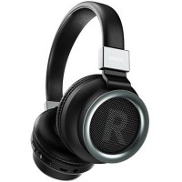 Casti wireless over-ear PD-BH400, Bluetooth 5.0, BASS, Microfon, Black