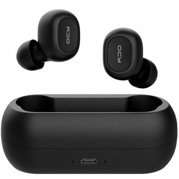 Casti wireless Xiaomi T1C, Bluetooth 5.0, Microfon, Black