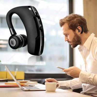 Casca Bluetooth V9 Pro, Autonomie Mare, Microfon, Utilizare partea stanga/dreapta, Sunet tare, Negru