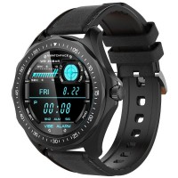 Ceas smartwatch BlitzWolf BW-HL3, Touchscreen, Bluetooth 5.0, Black