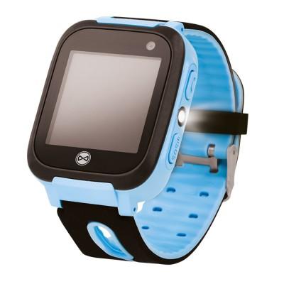 Ceas smartwatch copii KW-50, Localizare LBS, SIM, SOS, Lanterna, Blue