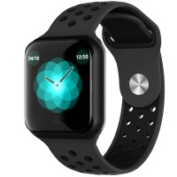 Ceas smartwatch L7, Full Touchscreen, Monitorizare ECG Puls Oxigen Activitati, Black