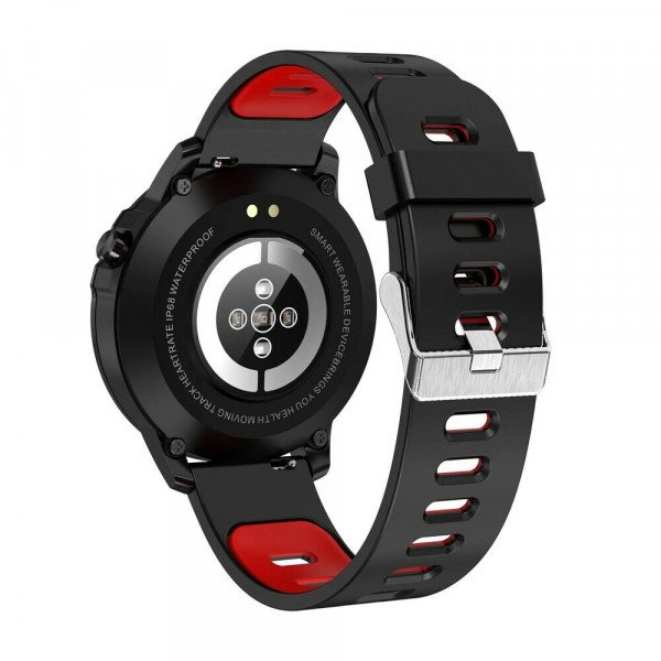Ceas smartwatch Microwear L8, 1.2-inch Full Touchscreen, Bluetooth, ECG+PPG+SPO2, IP68