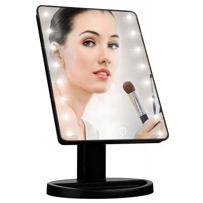 Oglinda cosmetica machiaj iluminata 10.5 inch,16 LED-uri, Buton Tactil