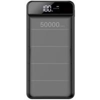 Baterie externa profesionala PowerBank 50000mAh, 3x USB, Afisaj, Lanterna LED, 2.1A