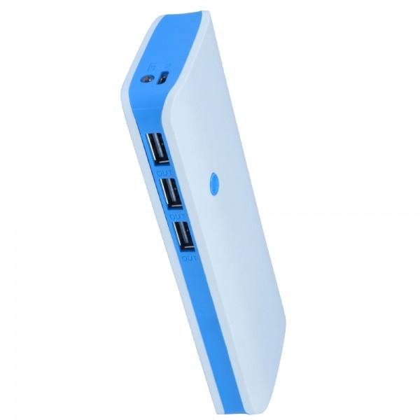 Baterie externa Nytro PowerBank 20000mAh,  3x USB, 2.1A, microUSB, Lanterna