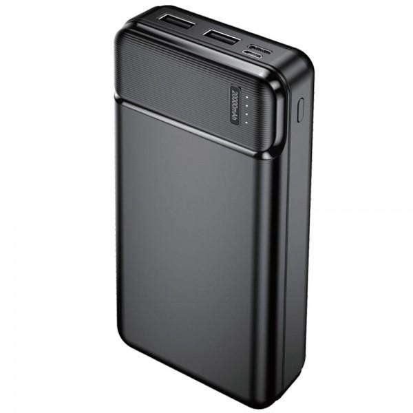 Baterie externa NytroPower Pro, 20000mAh, 2x USB, USB-C, microUSB, 2.4A