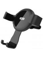 Suport auto telefon XO C31, Auto-prindere mecanica, Montaj ventilatie, Black