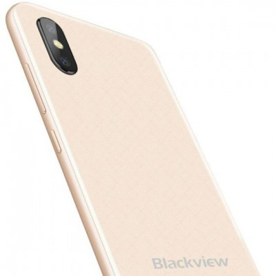 Telefon Blackview A30, Dual SIM, 2GB RAM, 16GB, 3G, Android 8.1, Gold